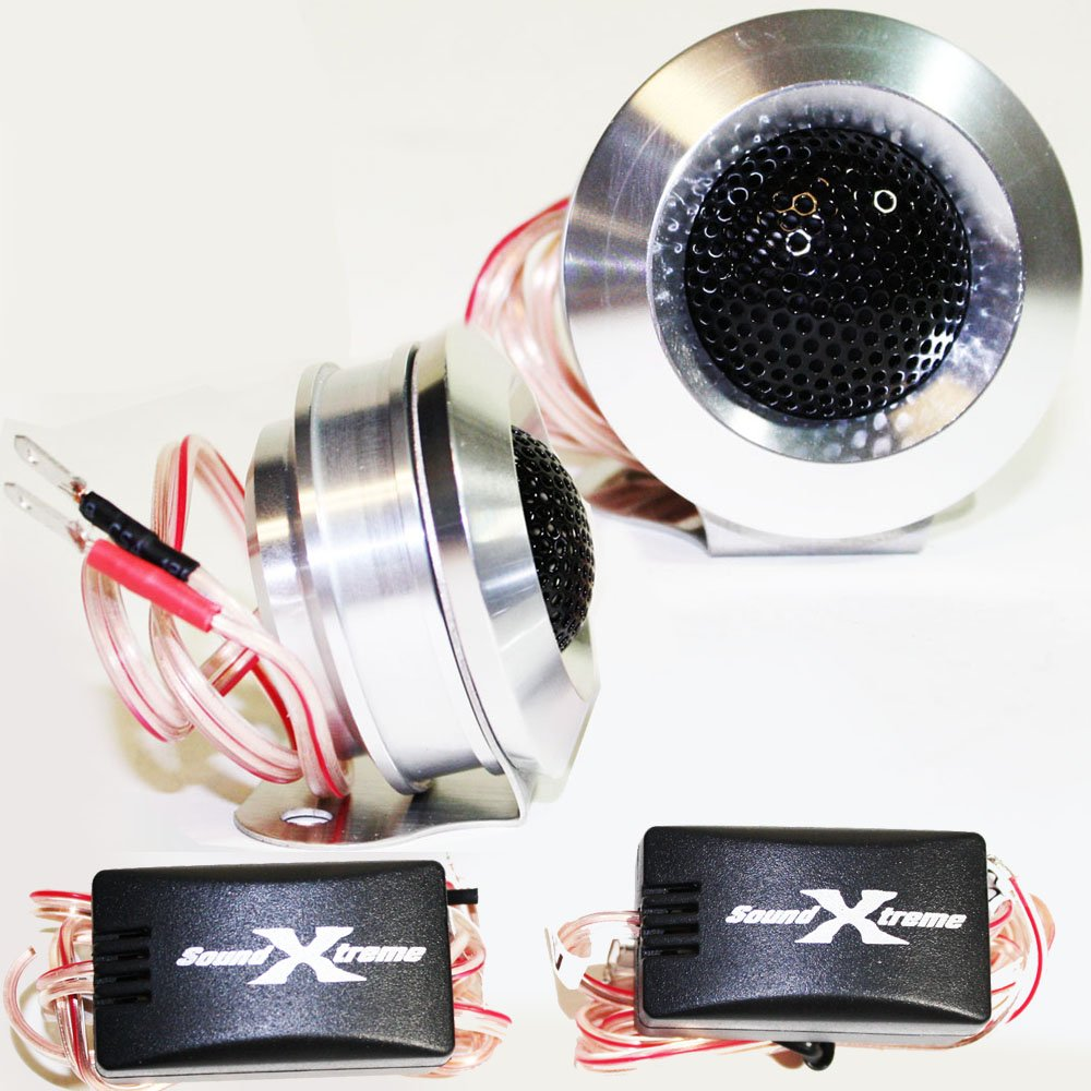 SoundXtreme TW110 Tweeters 350W MAX POWER w/ Crossovers