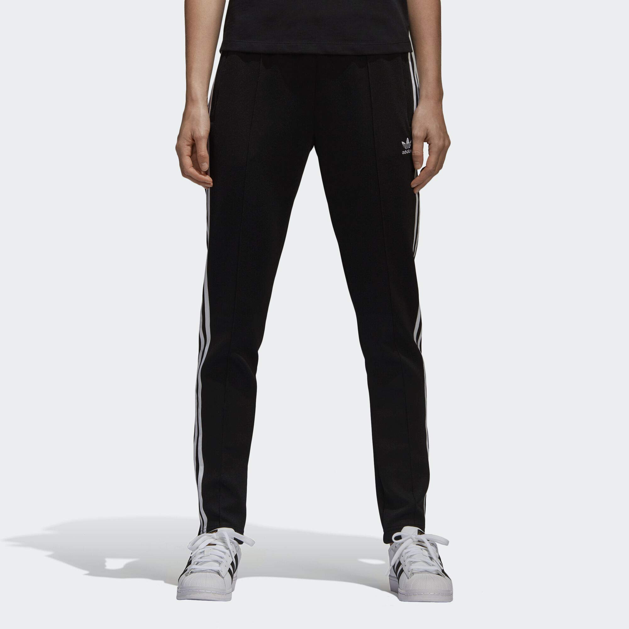 adidas Women's Superstar Trackpant, Black, M by adidas Originals