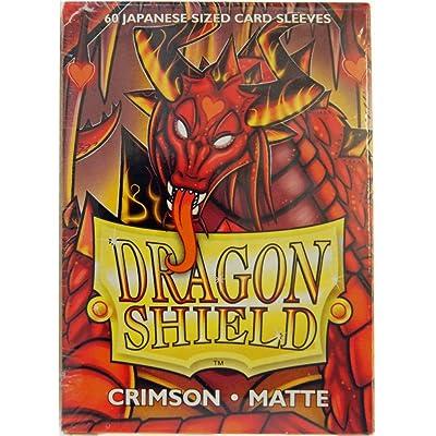 Arcane Tinmen ApS Sleeves: Dragon Shield Matte Japanese Crimson (60): Toys & Games