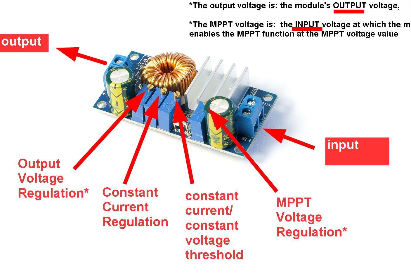 5a Mppt Solar Panel Controller Voltage Step Down Module Circuit Diagram Elektronik