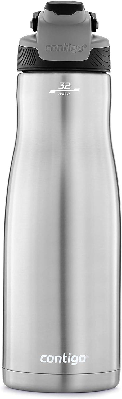 Contigo 2079446 AUTOSEAL Chill Water Bottle, 32 oz, Licorice Lid