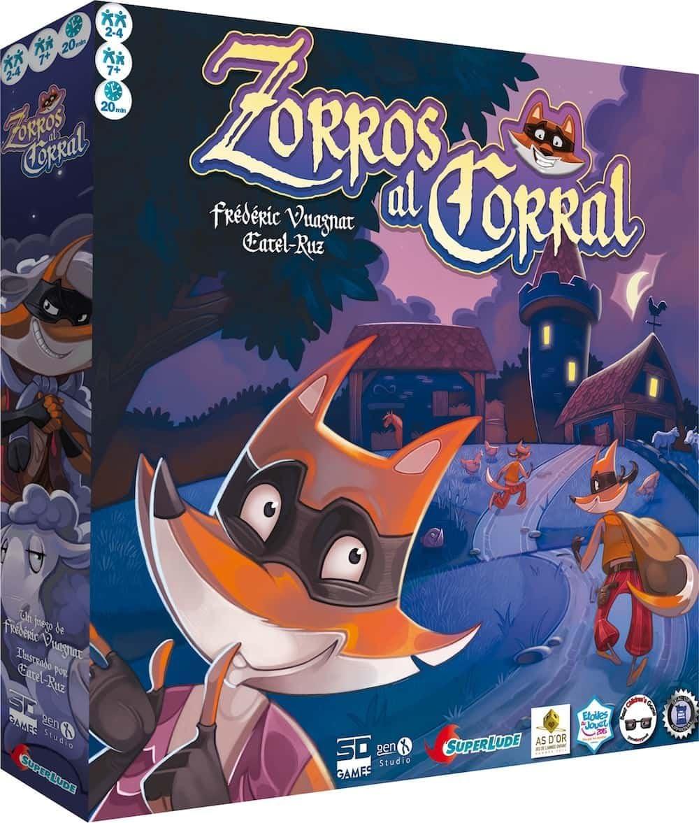 #Juegodemesa Zorros al corral por 14,95€ ¡¡40% de descuento!!
