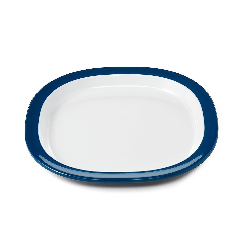 OXO Tot Melamine Plate, Navy