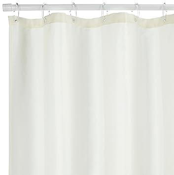 180 x 200 cm Farbe Sealskin Textil Duschvorhang Coloris B x H Ecru