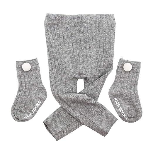 7eea0b8ab Amazon.com  Kidhop Baby Girls  Organic Cotton Tights