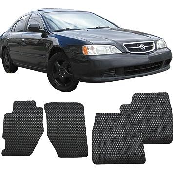 Amazoncom Floor Mat Fits Acura TL Front Rear Latex - 2006 acura tl floor mats