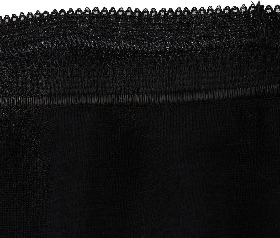 139ed6973f4760 Dilling Merino Slip für Damen - Bio Unterwäsche aus Merinowolle Schwarz 36