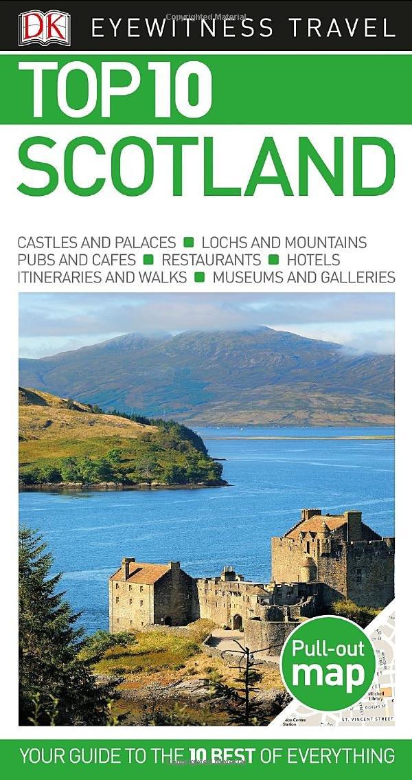 Top Scotland Eyewitness Travel Guide