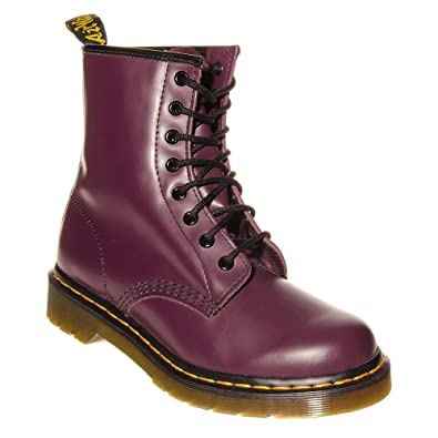 4cebfa72cf5391 Dr. Martens Women s 1460 Original Smooth Purple Boot - 7 F(M) UK