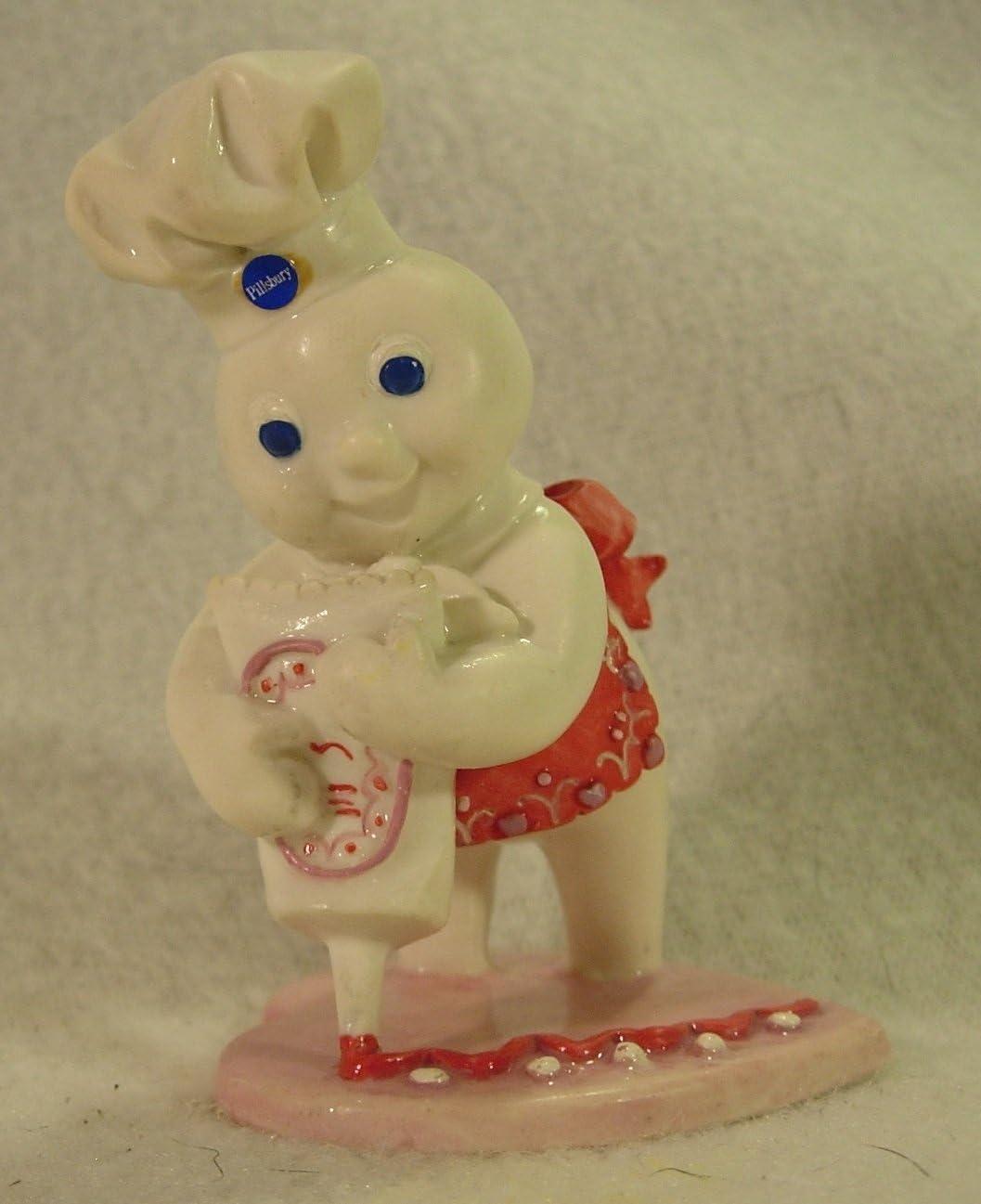 Pillsbury Danbury Mint Doughboy 1997 February Calendar Figurine