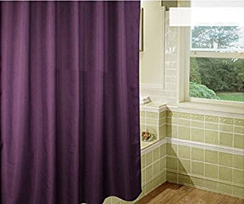 Duschvorhang Modern weare home modern stil purple lila curtain wasserdicht schimmelfest