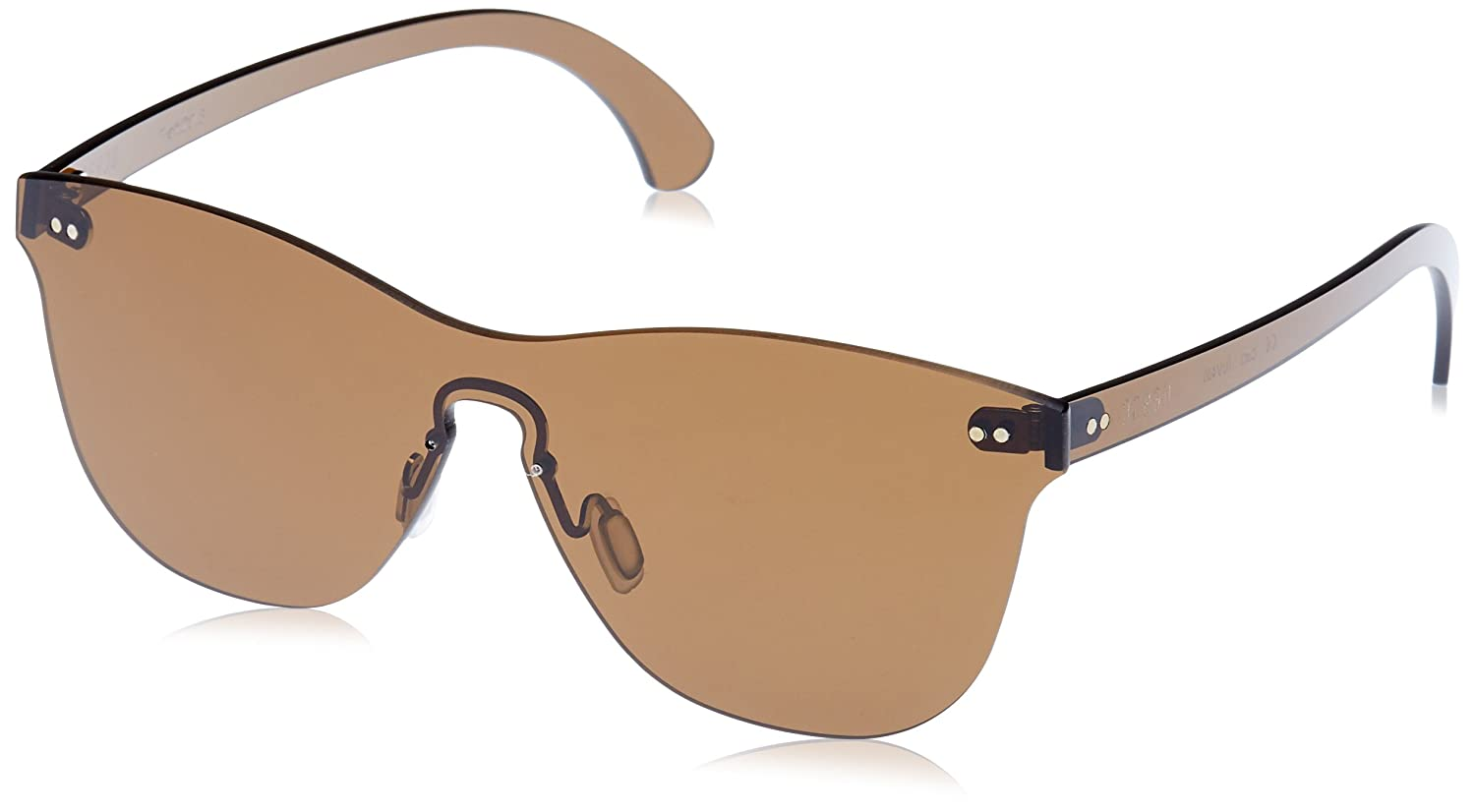 Ocean Eye Gafas de Sol, (Marrone), 58 Unisex Adulto