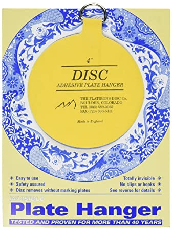 MOTIART Flatiron Disc Invisible Plate Hanger (4 Inch)