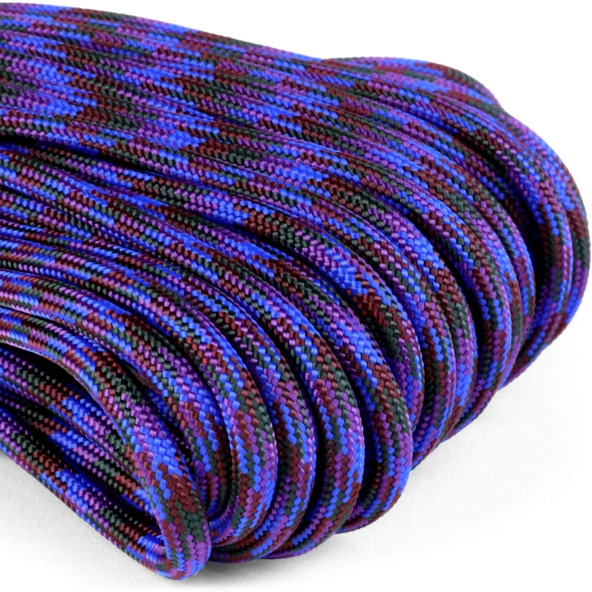 Keychain Bracelets Lanyards Handle Wraps Atwood Rope MFG 550 Paracord 100 Feet 7-Strand Core Nylon Parachute Cord Outside Survival Gear Made in USA