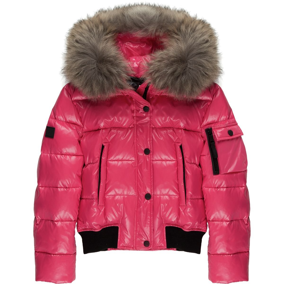 SAM Skyler Down Jacket - Girls' Geranium, 12