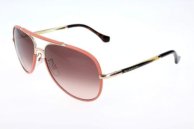 1e1443eddd Balenciaga Gafas de sol, Dorado (Gold), 60.0 para Mujer: Amazon.es ...