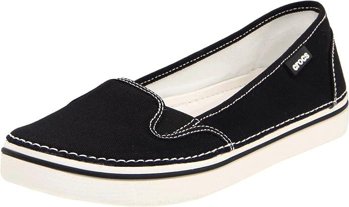 Crocs Hover - Mocasines, color Black/Oyster, talla 33.5: Amazon.es: Zapatos y complementos