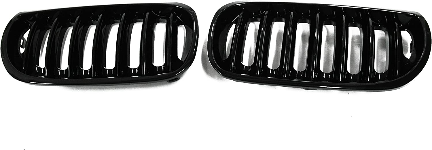 BMW X3 GRILLE KIDNEY CHROME BLACK RIGHT DRIVERS O//S  04-06
