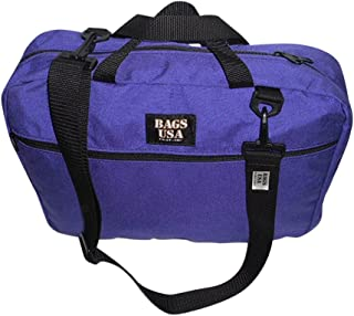 product image for Briefcase with Full Outside Pocket and Two Inside Pocket,Soft Briefcase, Made in U.s.a. (Purple)