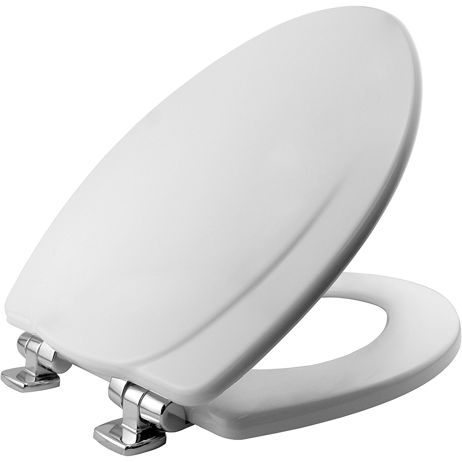 BEMIS 130CHSLB 000 130CHSL-000 Toilet Seat Elongated White