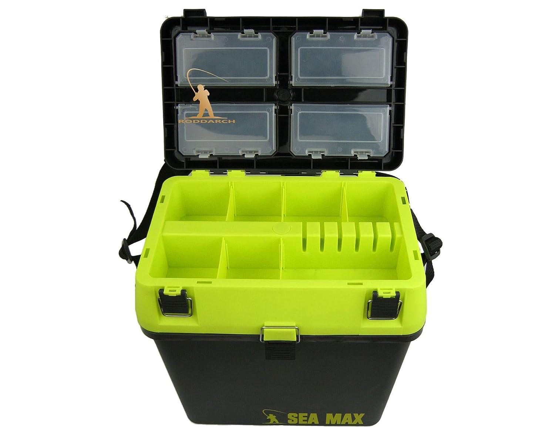 Roddarch SEA MAX© Sea Fishing Tackle Seat Box  Genuine Product