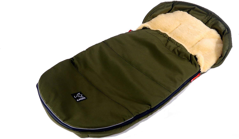 Saco de dormir de lana de oveja superligero marine Kaiser 6720536 Lenny