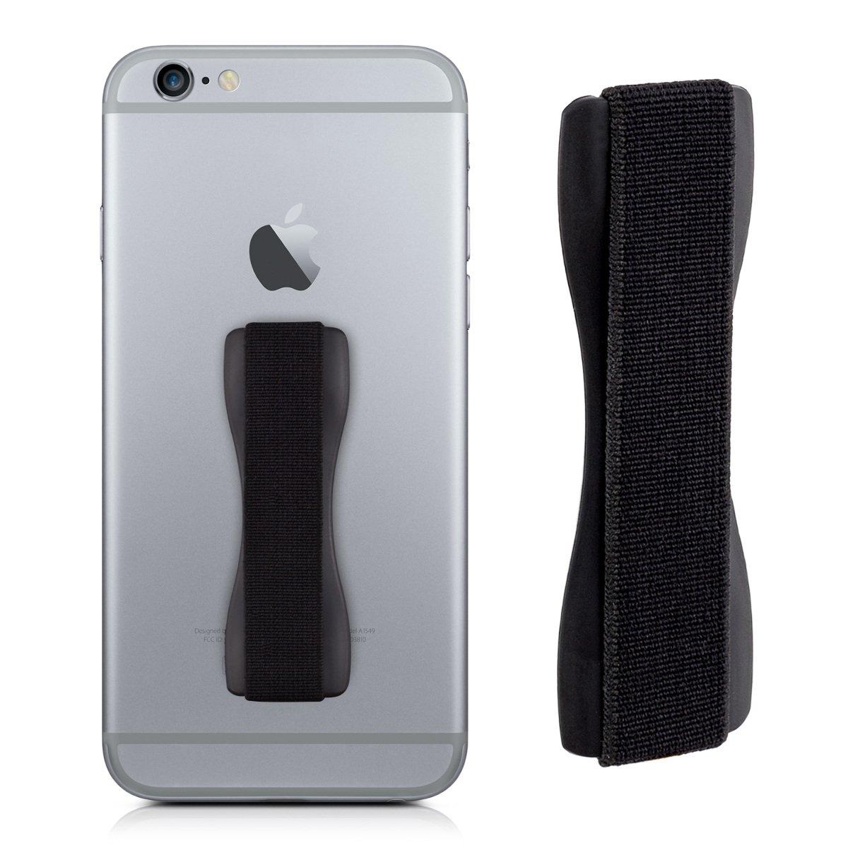 kwmobile 35411.01 accesorio para dispositivo de mano Finger strap Negro: Amazon.es: Electrónica