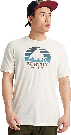 Burton Underhill Short Sleeve tee Camisetas atléticas, Hombre: Amazon.es: Deportes y aire libre
