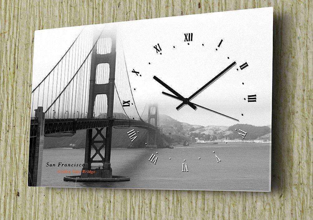 (リムピドゥ)LIMPID Design WALL CLOCK フレームがない アナログタイプ 無騒音 連続秒針 インテリア掛け時計 Nyc-009A B07C85SWKD