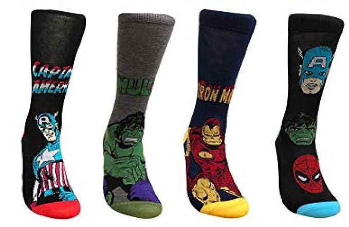 Marvel Comic/'s Avenger Men/'s socks,size 6-11 5 designs