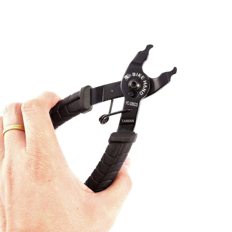 CLE DE TOUS - Alicates para Eslabones Rápidos de Cierre Cadenas Abrir Cerradura Link Remover Herramientas de Taller de Instalación Reparación Reparar para ...