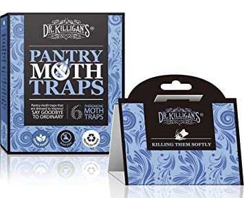 Non-Toxic Killigan/'s Premium Pantry Moth Traps with Pheromone Attractant Dr 6