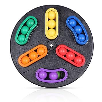Kelydi Rotacion Magic Beads Juego De Mesa Juguetes Puzzle