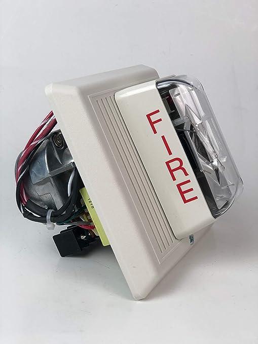 Kidde INT-7ARW - Altavoz con Alarma de Incendios (70 V, RMS ...
