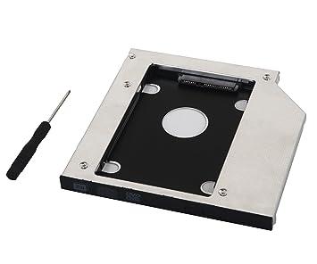 DeYoung óptico de 2 nd disco duro SSD Caddy Adaptador para HP ...