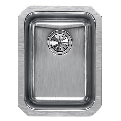Elkay Lustertone ELUH1116 Single Bowl Undermount Stainless Steel Sink