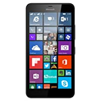Lumia 640 XL Windows 8.1 Smartphone with 13MP Camera,  4G LTE 8GB,  5.7-Inch, Black (AT&T)