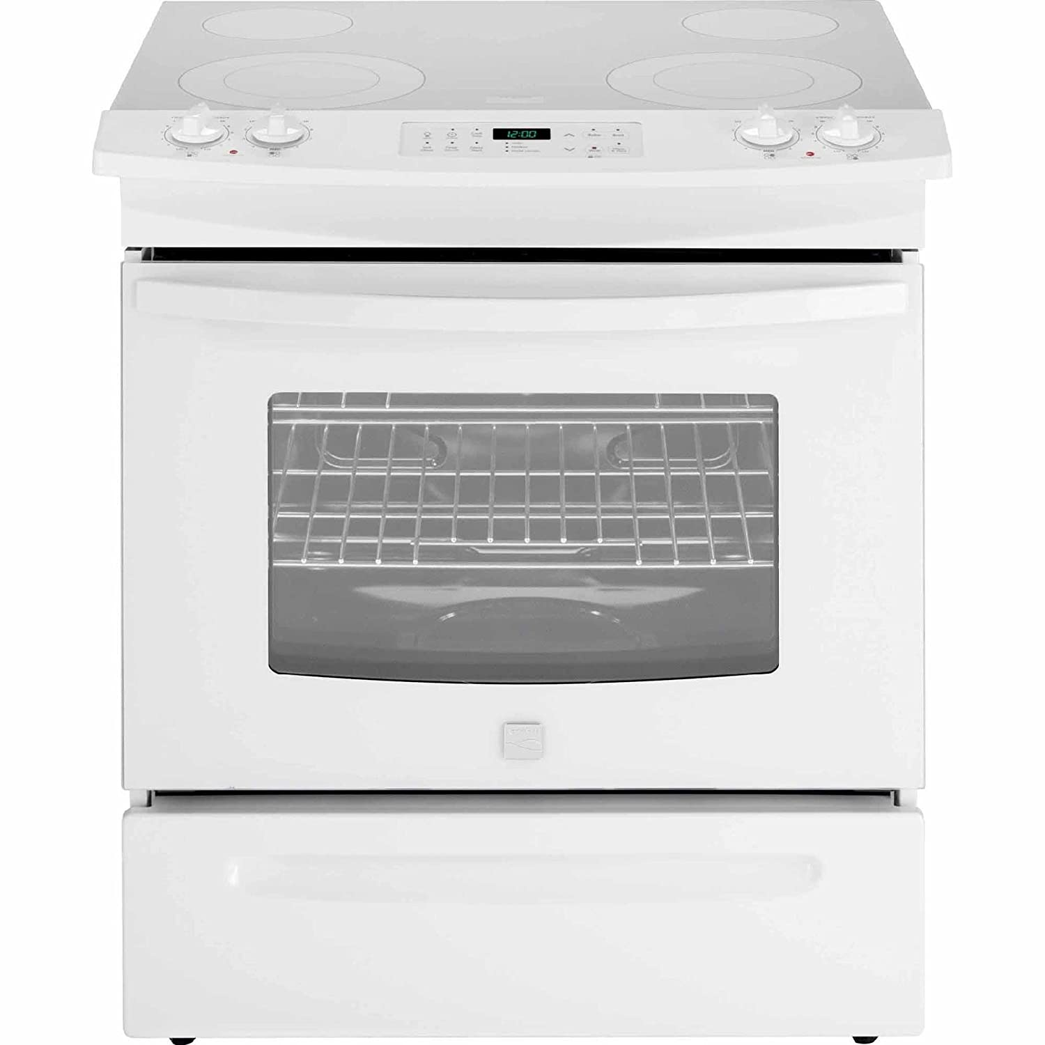 Kenmore 42532 4.6 cu. ft. Self Clean Electric Slide-in Range in White, includes delivery and hookup Sears Brands Management Corporation (Kenmore) 02242532