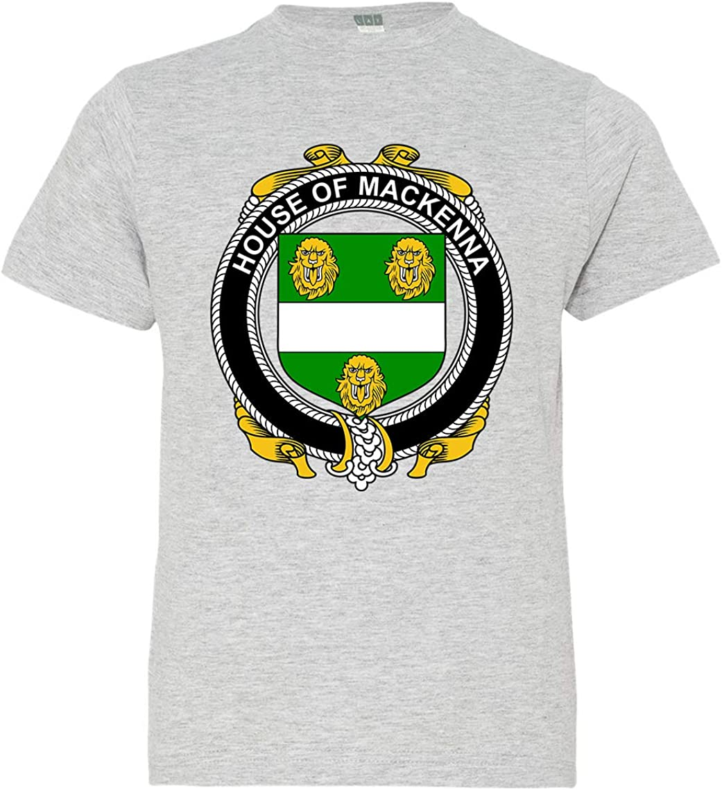 Tenacitee Boys Youth Irish House Heraldry Mackenna T-Shirt