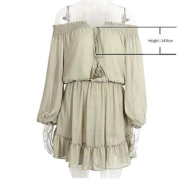 WalterTi Fashion Ruffle fringe dress vestido de festa Short chifon vintage dress women Off shoulder long