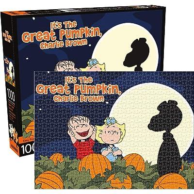Peanuts Great Pumpkin 1000 Pc Puzzle: Toys & Games