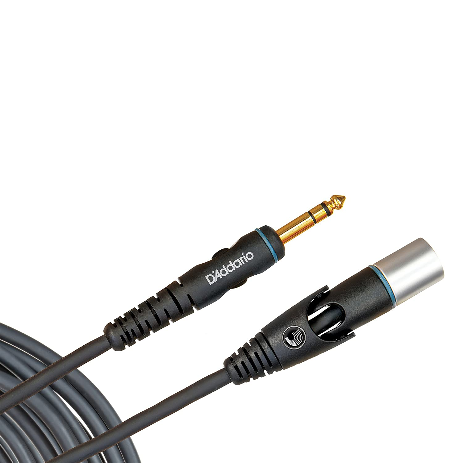 Planet Waves Custom Series Microphone Cable, XLR Male to 1/4 Inch, 10 feet - PW-GMMS-10