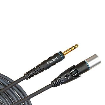 Planet Waves PW-GMMS-05 - Cable para micrófono XLR a jack (6.3