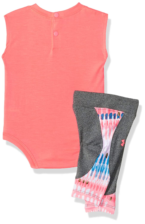 Under Armour Baby Girls Short Sleeve Tee and Capri Set