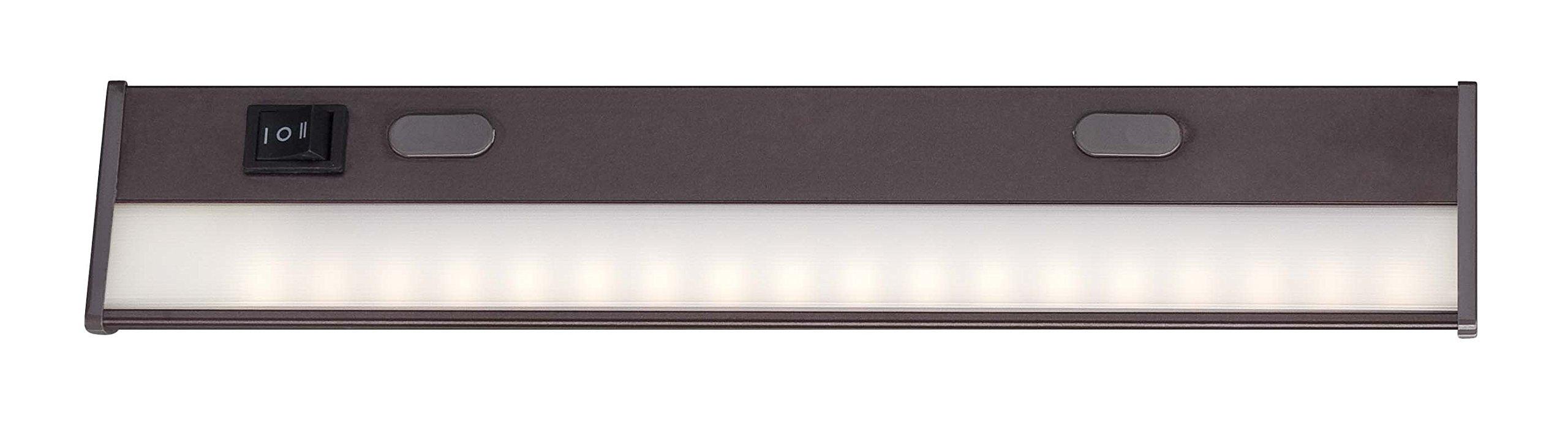 Acclaim Lighting LUC12BZ Do-It-Yourself LED Under Cabinet Lighting, 12'', Bronze