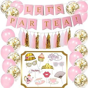 Tea Party Decorations Kit |