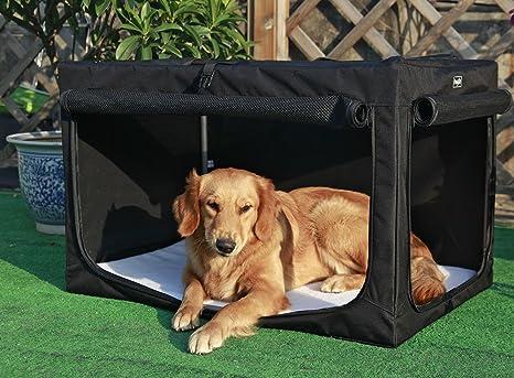 Casa para perros de Petsfit, portátil y plegable, suave, caseta para mascotas,