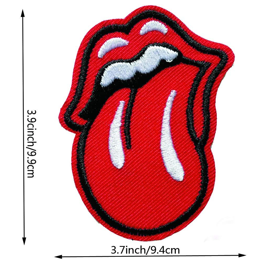 Amazon.com: 3 parches para la lengua de labios rojos ...