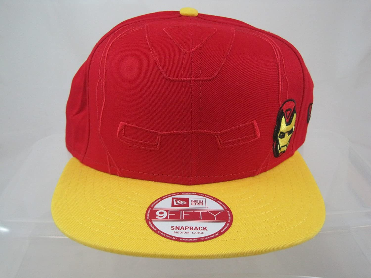 Amazon.com   9Fifty Marvel Iron Man New Era Snapback Medium-Large Hat Cap  Los Angeles Clippers   Sports   Outdoors 7e2c6e1fb79
