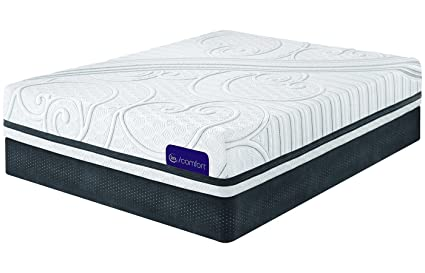 Amazoncom Serta Queen Icomfort Savant Iii Plush Mattress Home
